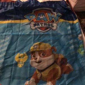 Paw patrol curtain
